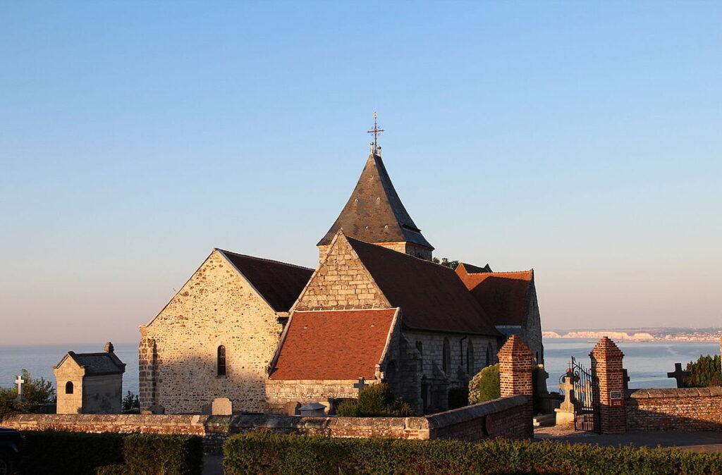 Saint Valery in Varengeville-Sur-Mer, France.