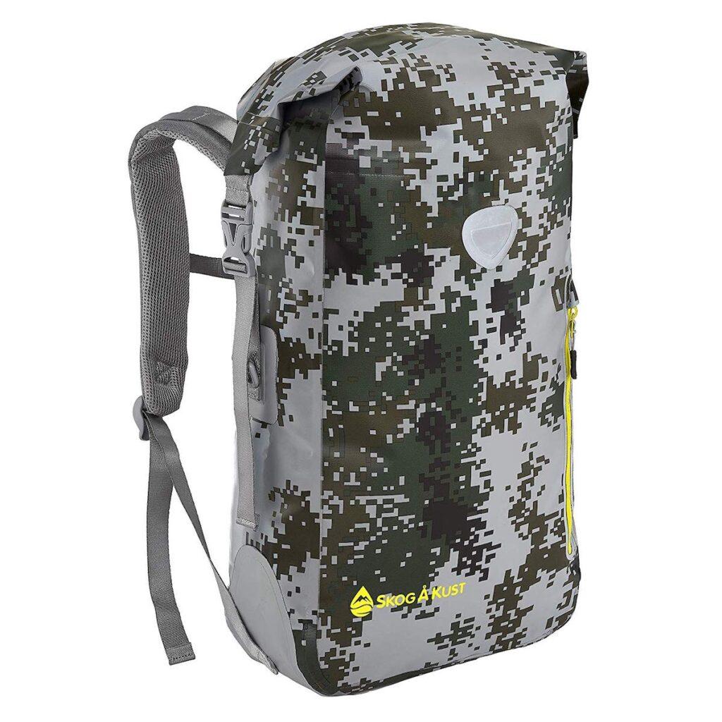 Sak Gear BackSak Waterproof Backpack in DigiCamo.