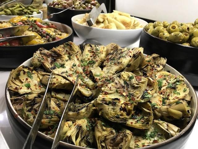 Salads from Texas de Brazil.