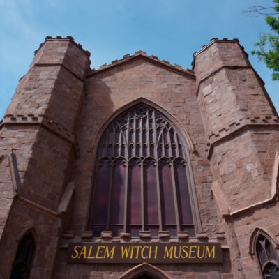 Salem Witch Museum in Salem, Massachusetts.