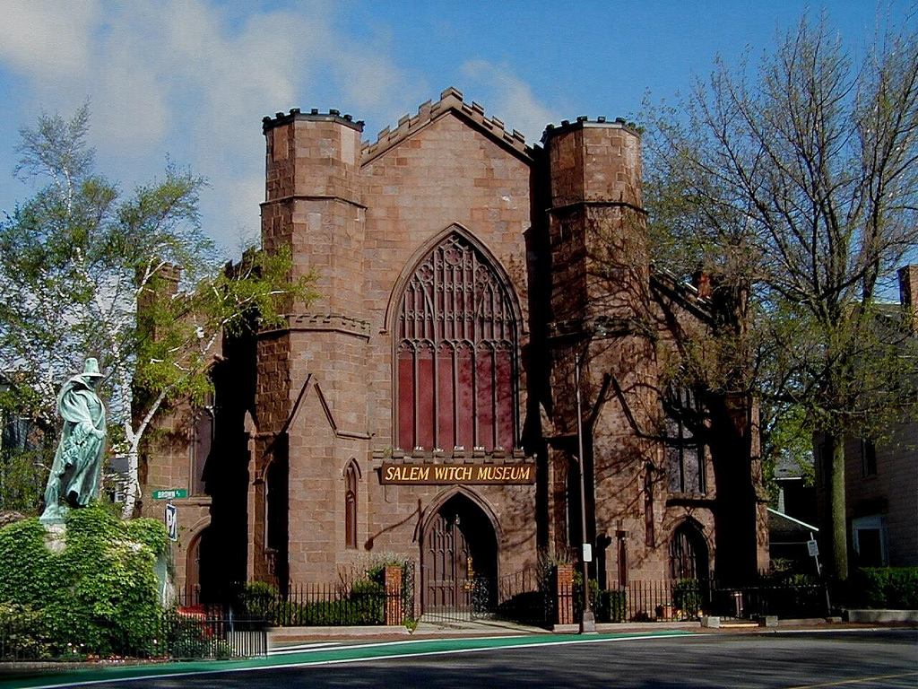 Salem witch museum Salem, Massachusetts