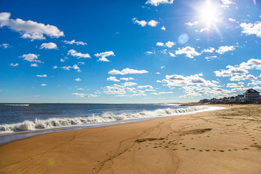 Salisbury Beach State Reservation in Massachusetts.