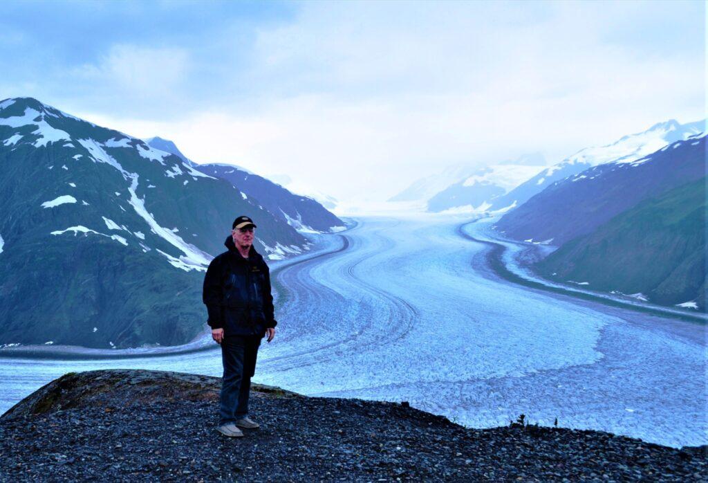 Salmon Glacier in Alaska.