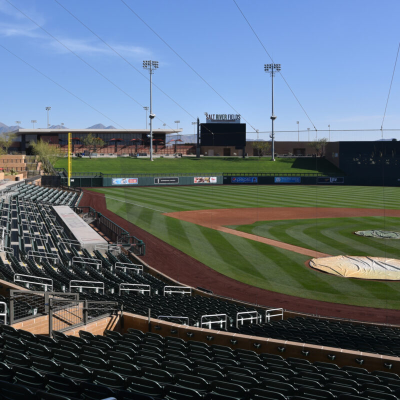 Salt River Fields at Talking Stick, a spring training facility in Arizona.
