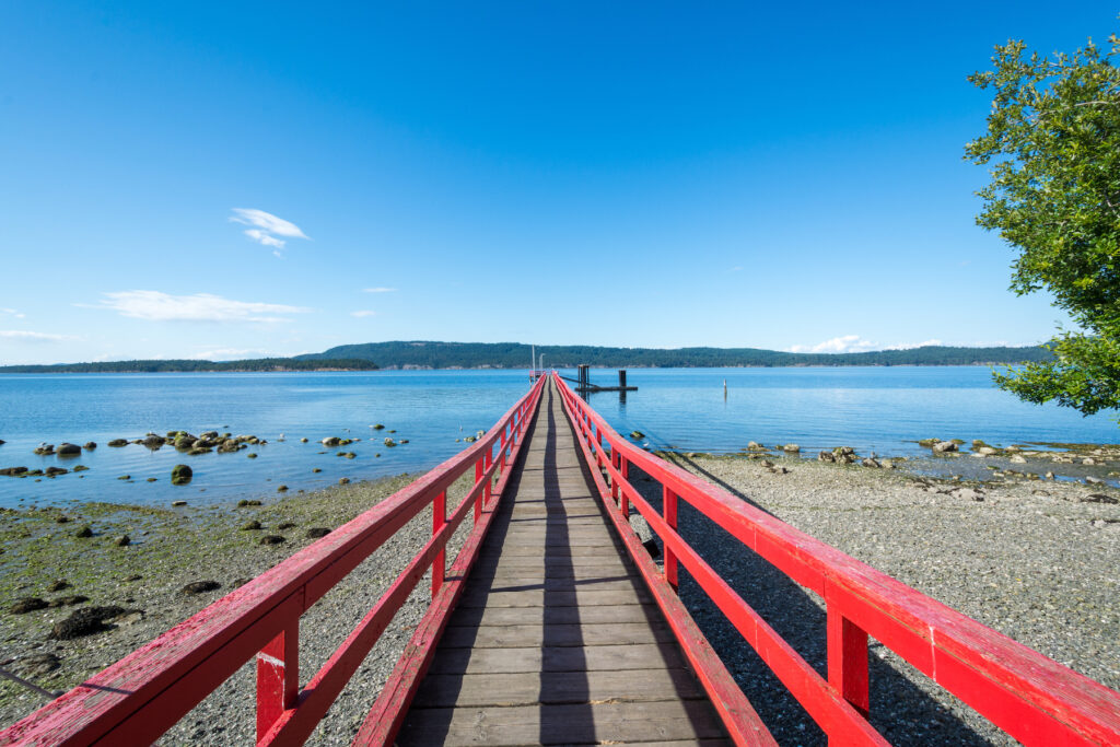 Salt Spring Island in British Columbia.