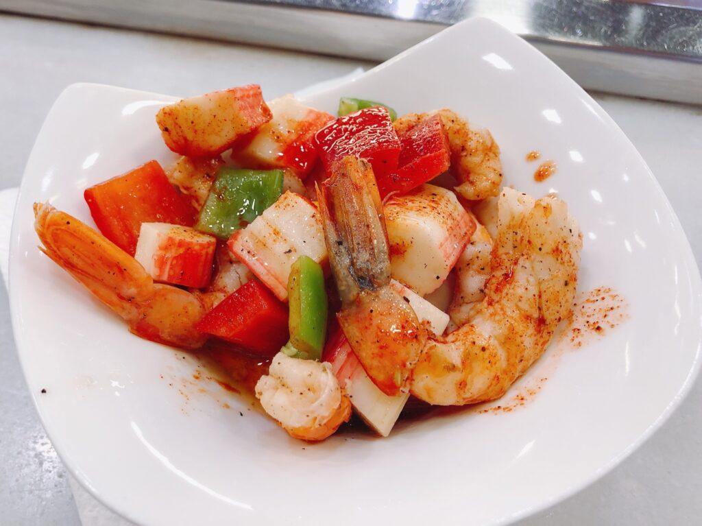 Sampling Mediterranean cuisines.