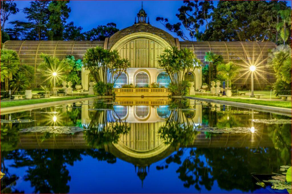 San Diego Botanical Garden and Lily Pond