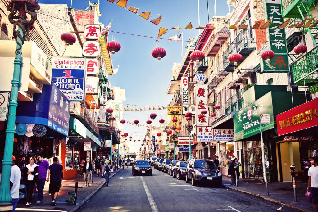 San Francisco's Chinatown.