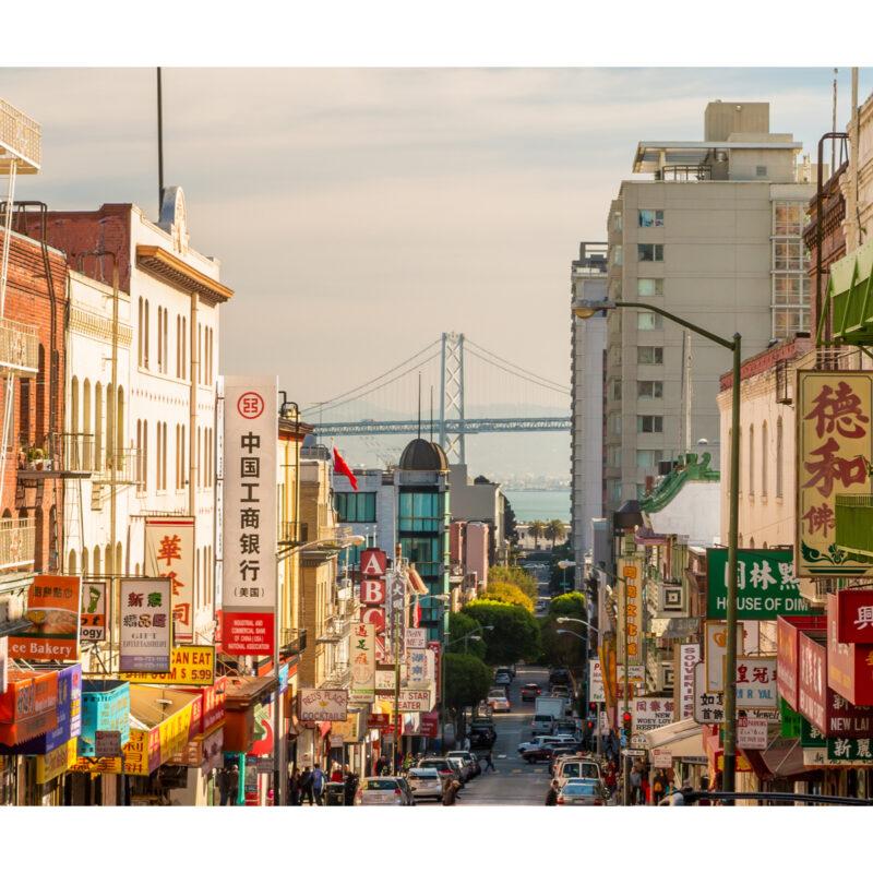 San Franciscos Chinatown.