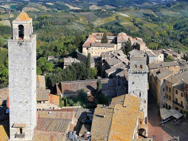 San Gimignano medieval tower