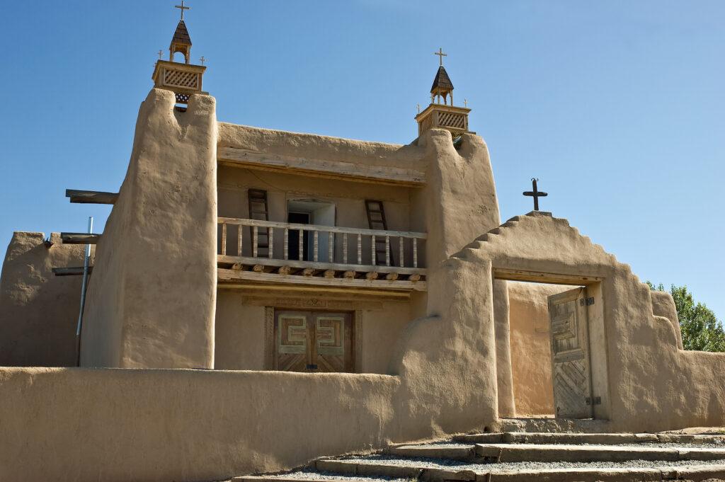 San Jose de Gracia church in Las Trampas.