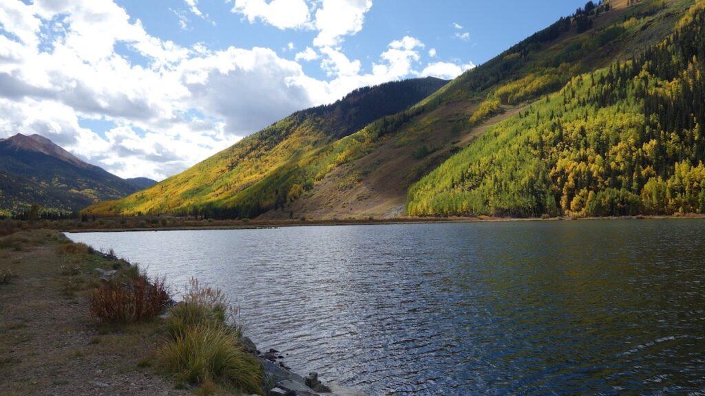 San Juan Mountain views near Silverton, Colorado.