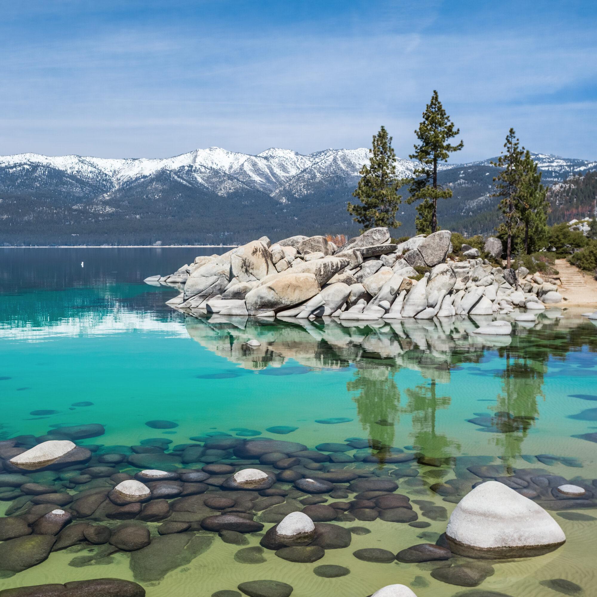 Sand Harbor in Lake Tahoe Nevada State Park.