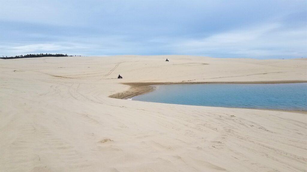 Sand Lake Dunes Recreation Area in Oregon.
