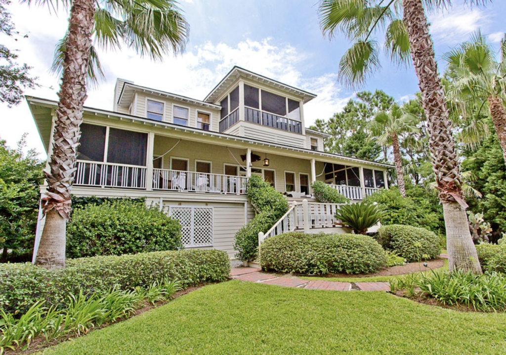Sandra Bullock's Tybee Island home.