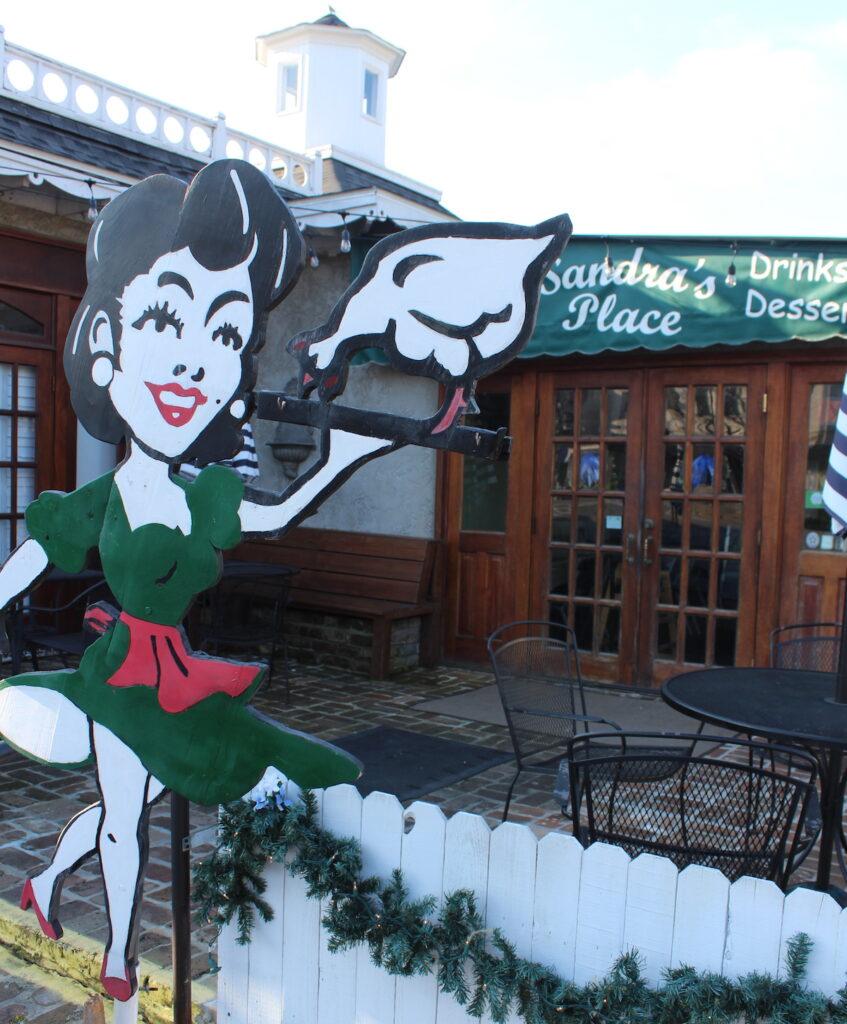 Sandra's Place Restaurant, Fairhope, Alabama.