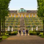 Sanssouci Palace in Potsam, Germany.