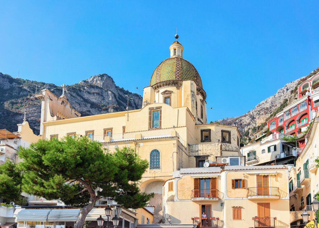 Santa Maria Assunta Church in Positano, Italy.
