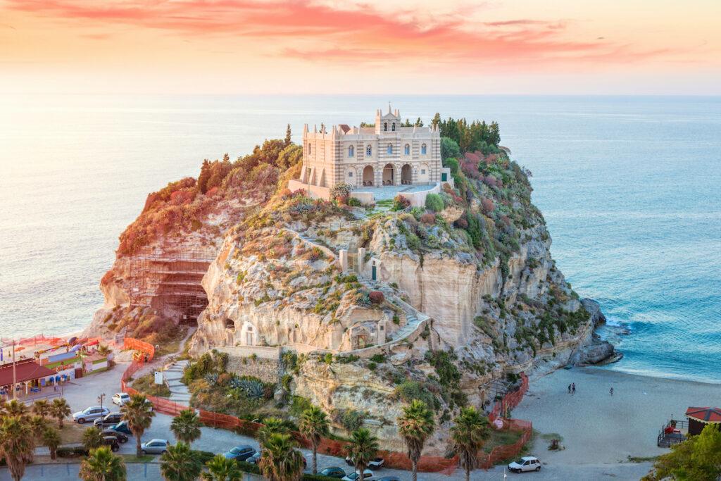 Santa Maria dell'Isola in Italy.