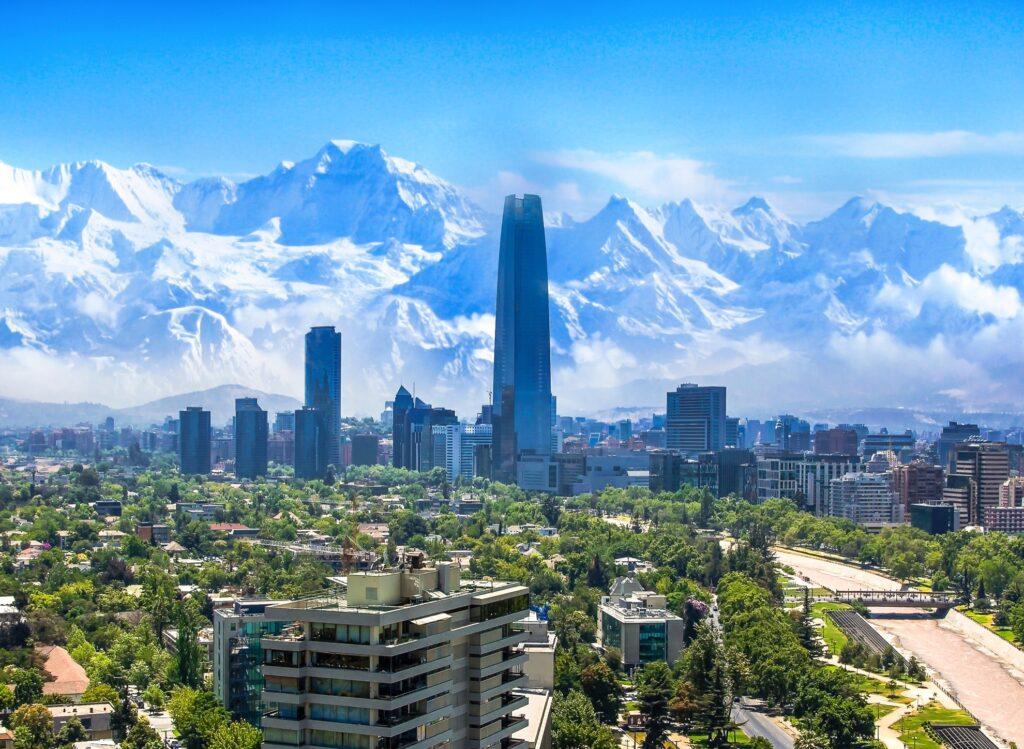 Santiago in Chile.