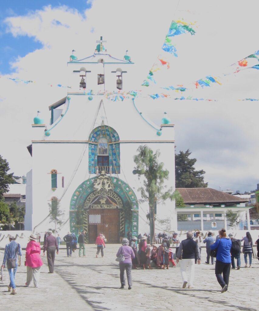 Santo Domingo's Church in San Cristobal de las Casas.