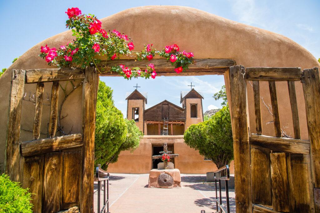 Santuario de Chimayo in Chimayo, New Mexico.
