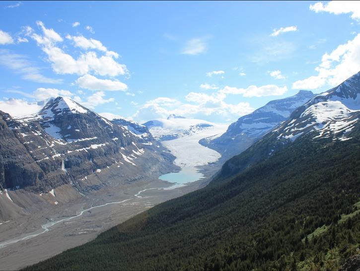 Saskatchewan glacier, Banff