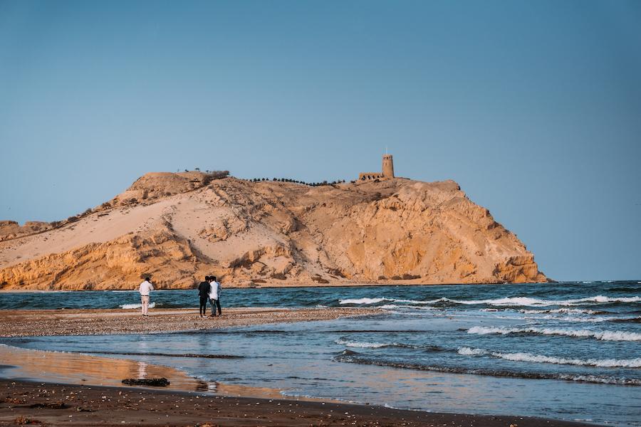 Sawadi Beach in Oman.