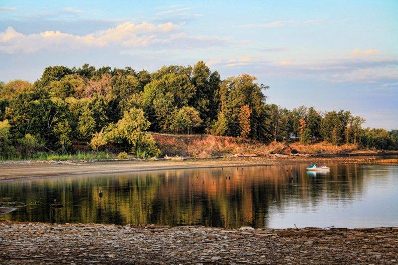 Scenery at Lake Eufaula State Park.