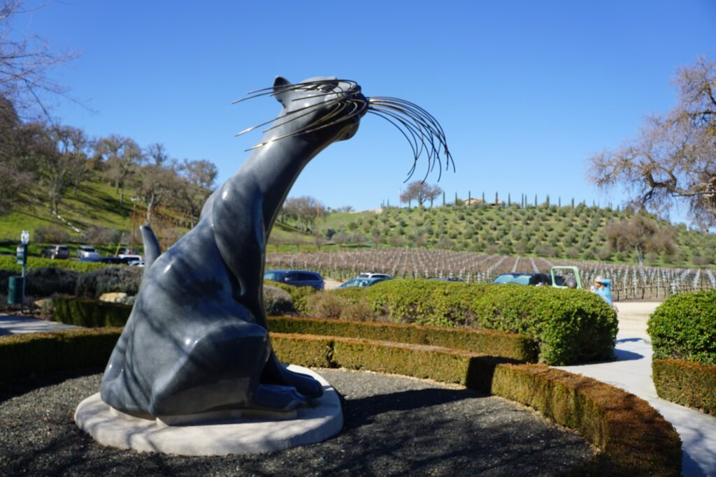 Sclpterra Winery and Sculpture Garden in Paso Robles.