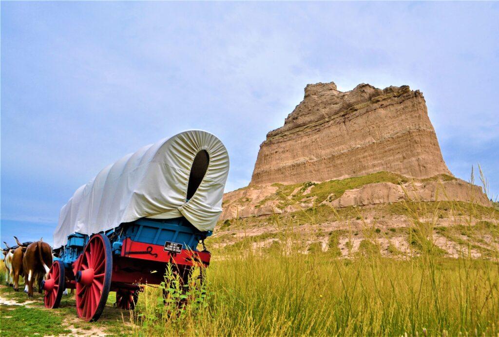 Scotts Bluff National Monument in Nebraska.