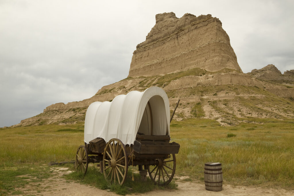 Scotts Bluff National Monument in Nebraska.
