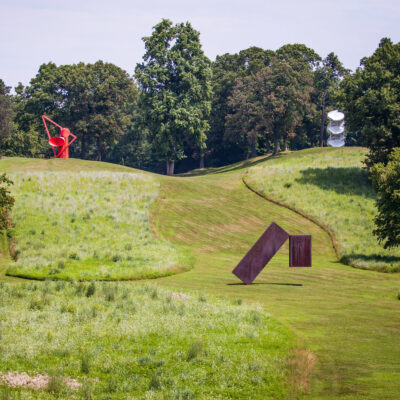 Sculptures at the Storm King Art Center in Cornwall, New York.