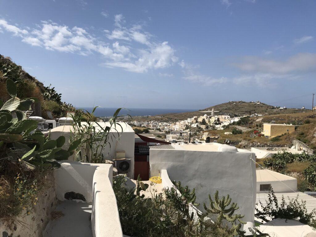 Seaside views in Emporio.