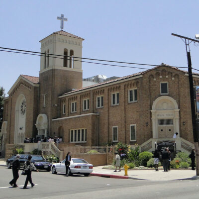 Second Baptist Church in Los Angeles, California.