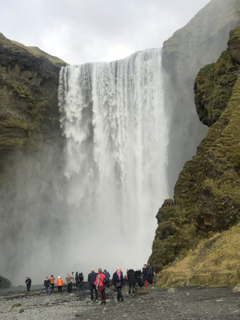 Seljanlandsfoss, a waterfall in Iceland.