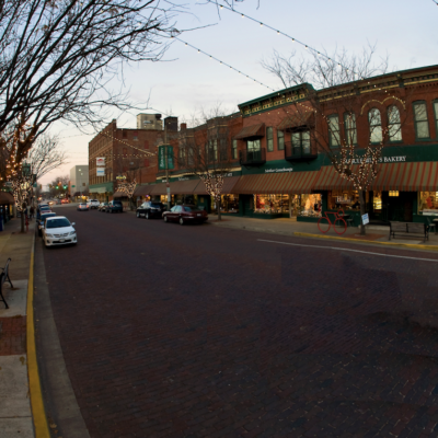 Seminary Street, Galesburg, Illinois.
