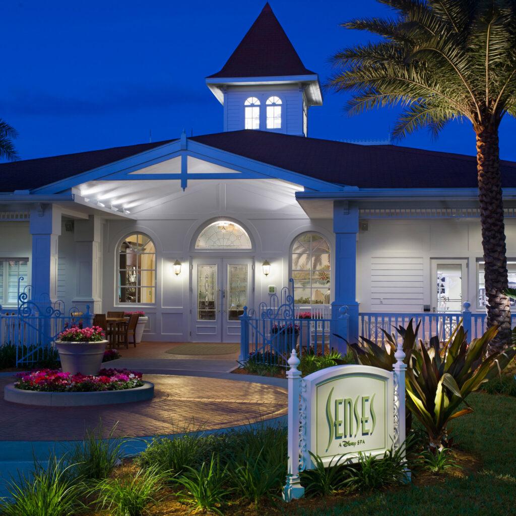 Senses Spa at the Grand Floridian Resort.