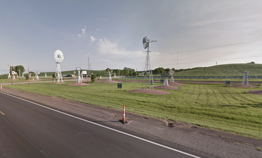Sentinels Of The Prairie in Jackson, Nebraska.