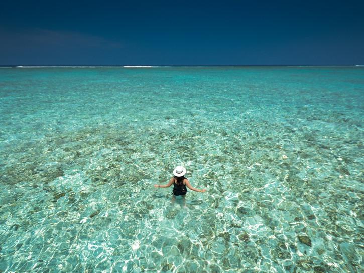 Shallow water, Maldives