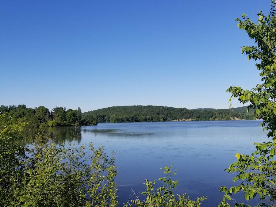 Shawnee Lake in Schellsburg, Pennsylvania.