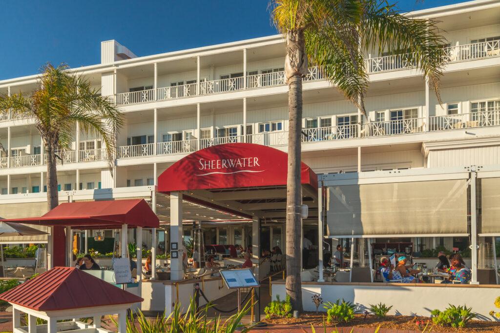 Sheerwater, a restaurant at the Hotel del Coronado in California.
