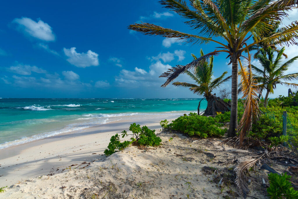 Shoal Bay East on the Caribbean island of Anguilla.