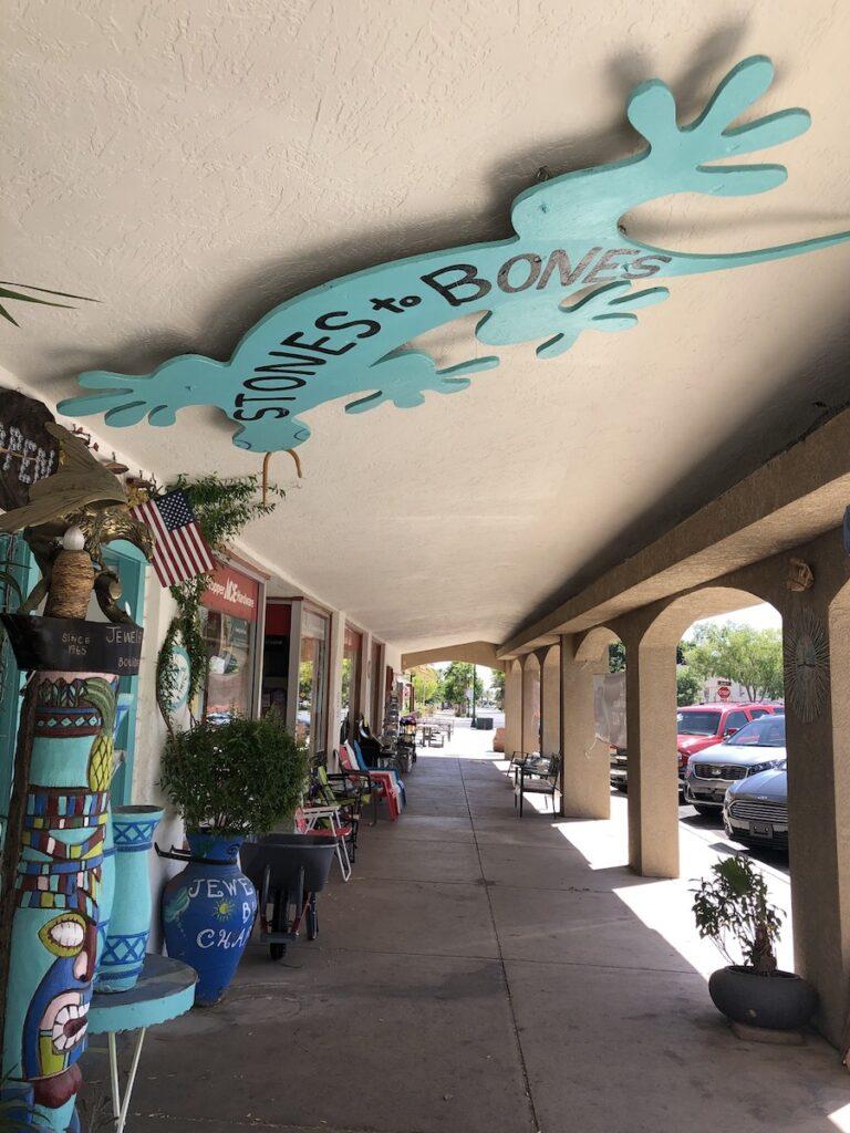 Shops in downtown Boulder City.
