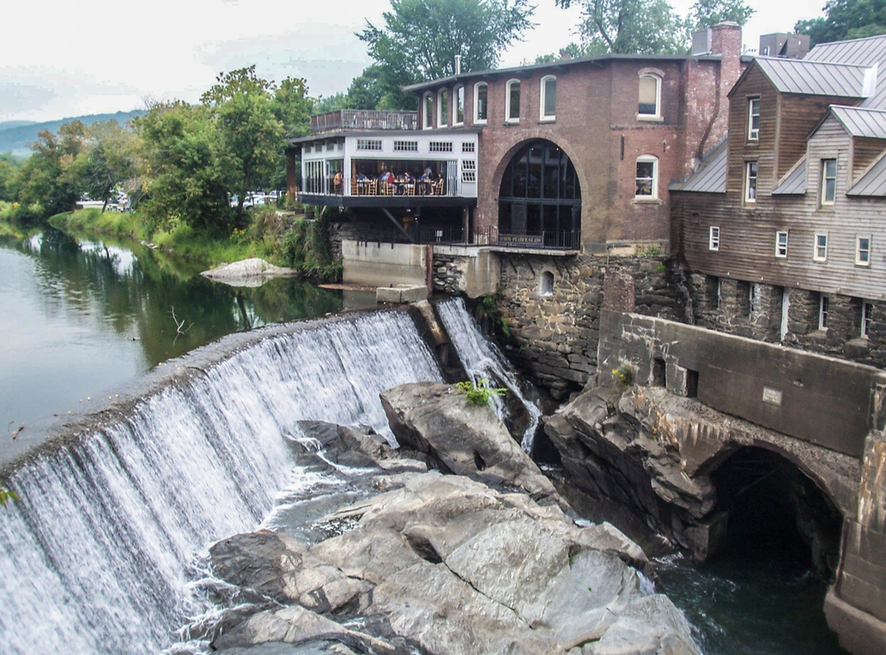 Scenic View Of Quechee, VT