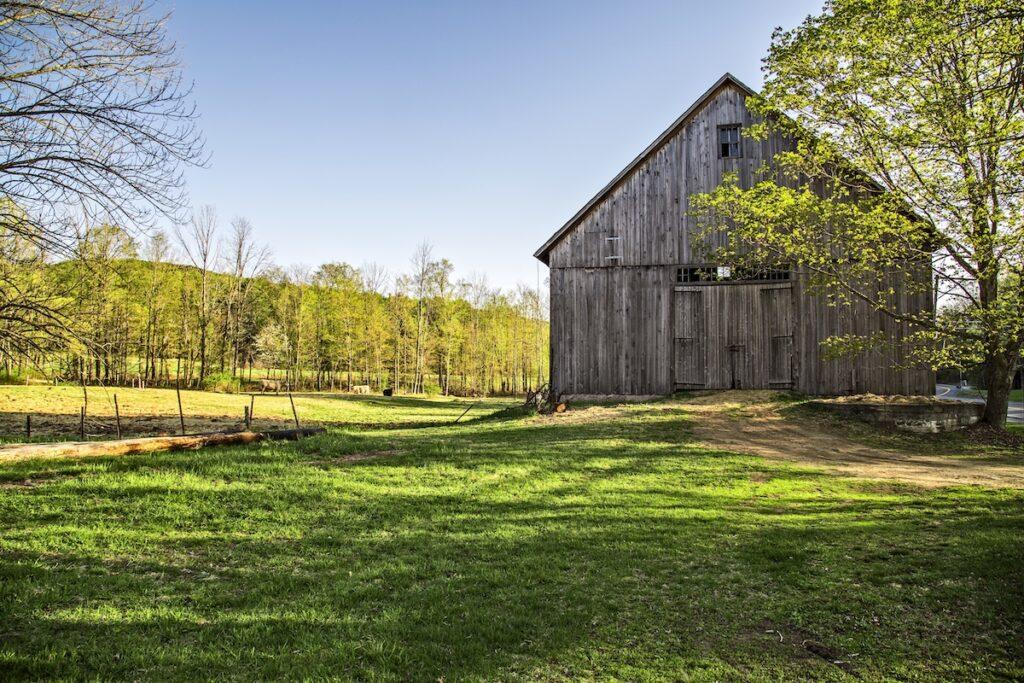 A barn in Hanover, New Hampshire.