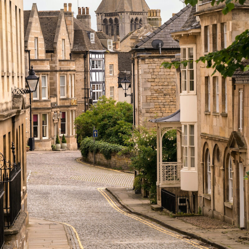 Old streets in Stamford.