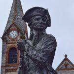 Statue in Concord, MA.