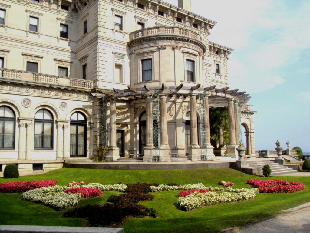 Side view of the Breakers Newport Rhode Island