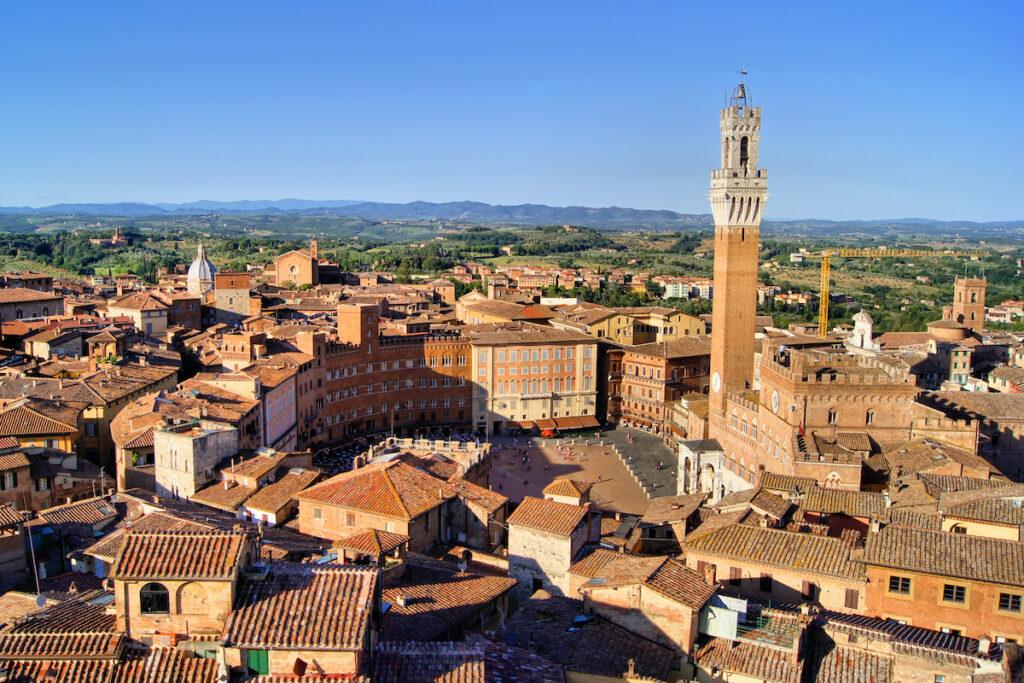 Siena, Italy. Piazza del Campo.